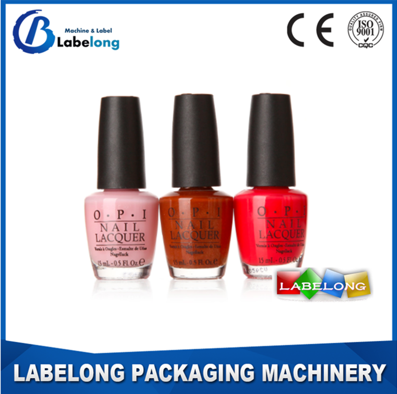 2016 Various Shape Transparent Printing Nail Polish Bottle <strong>Label</strong>