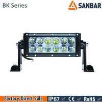 4x4 bull bar 18w led bar light mounting bracket with 3w chip