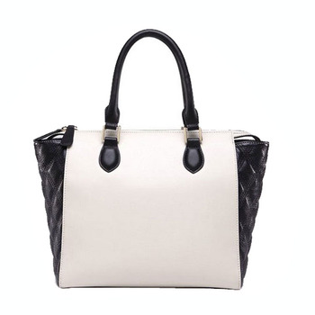 HD247 High Quality Wholesale Lady Leather Handbags Women Leather Tote Bag