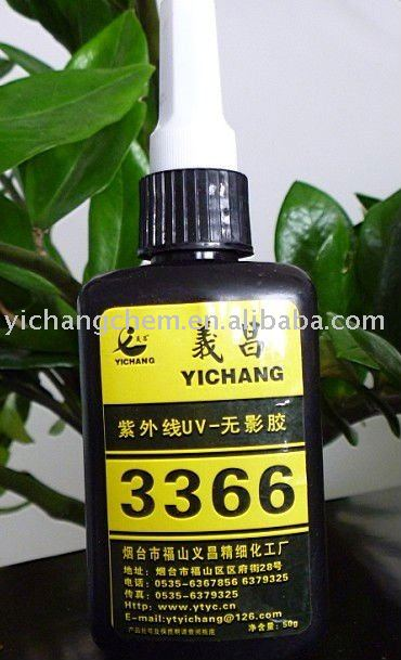 3366 UV adhesive curing without uv light