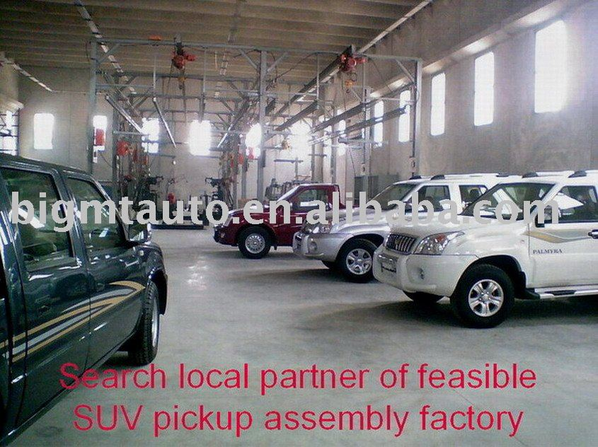 Single Cab 4x2 drive Pickup/SUV Assembly Line