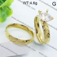 chinese wholesaler 2015 trendy strawberry gold engagement rings manufacturer