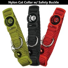 High safety Quick Release Nylon cat collar extra small Pink