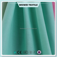 heavy polyester cotton blended twill fabric for making pants