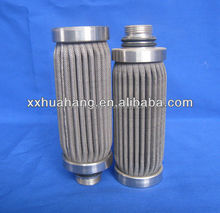 stainless steel pleated oil filter element made by china supplier