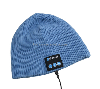 2017 Knitted Bluetooth winter gift hat bluetooth with speakers