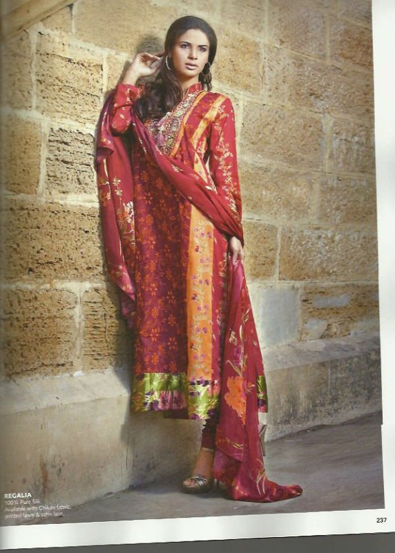 Gul Ahmed Lawn Collection 2012