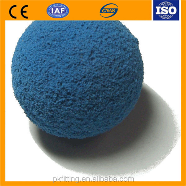 high quality Concrete pump pipe line cleaning balls sponge balls