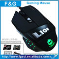 led weighted game mouse with led lighting logo