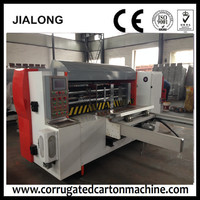 Energy efficient High speed Automatic lead edge feeding front feed rotary die cutting machine for corrugated board