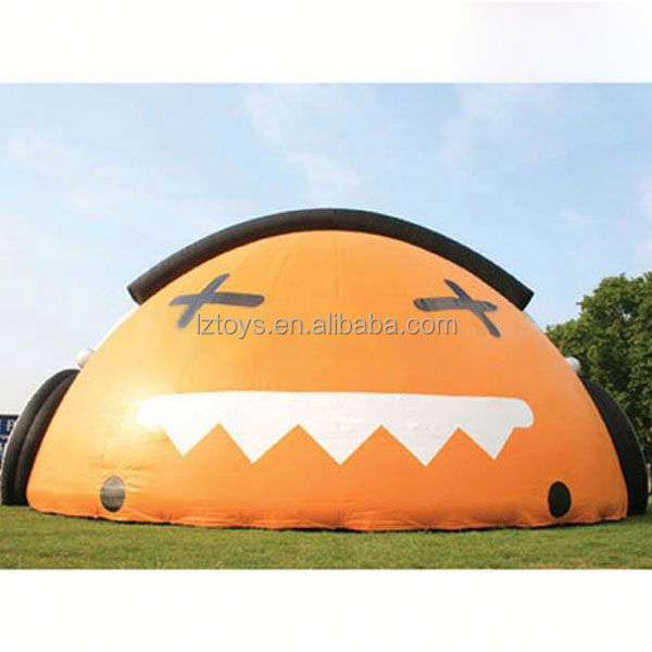 inflatable kids tent , LZ-E1002 giant sewed inflatable tent
