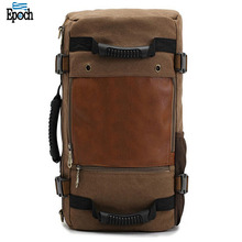 2018 Multi function men canvas material army style large capacity duffel elegant tactical backpack in bulk