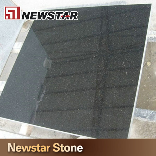 Chinese polished black niro granite tile 40x40