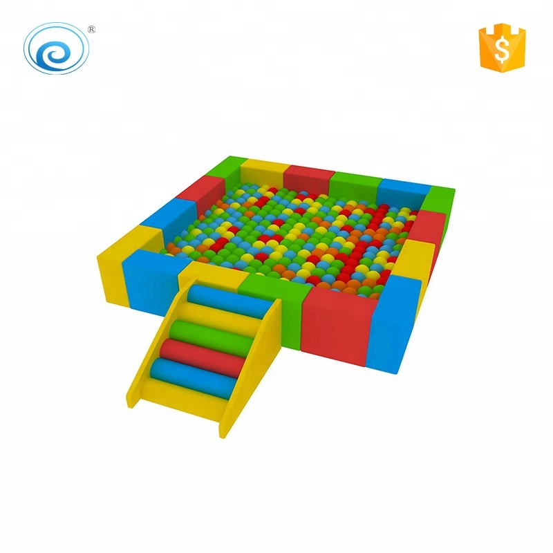 Toddler sports indoor soft play sets <strong>kids</strong> colorful sponge fence with ball pool children indoor playground equipments for sale