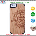 2016 New natural unfinished wood tpu case for iphone 6s 7 case wood IPC337H