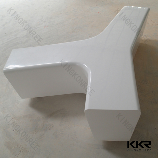 artificial stone benches acrylic shopping mall bench for rest