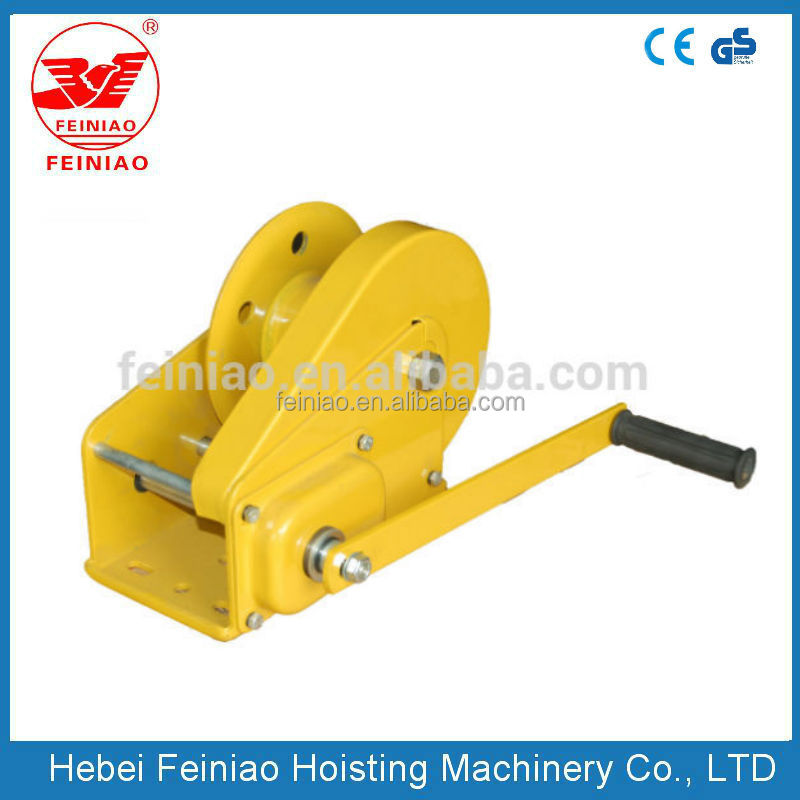 CE SGS approved Manual Chain Block Hoist /Wire Rope Hand Winch