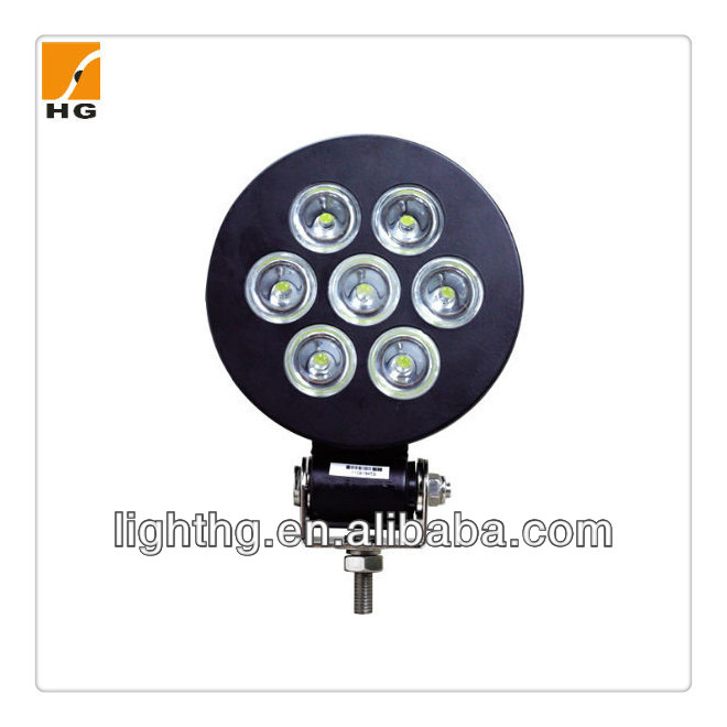 "Round 5"" CREE/Epistar 21W 9-32V LED Work Light , LED Driving light for trucks, tractors,off road,atv"