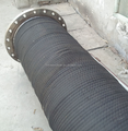 Flange type dredging hose suction drainage rubber hose large diameter water suction and drainage hose