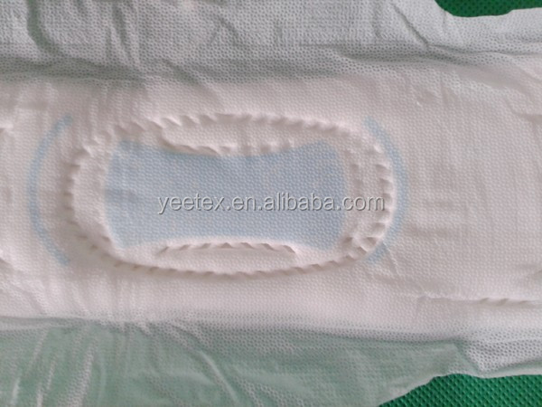 High quality sanitary napkin with negative ion