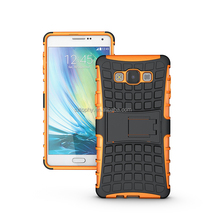 2in1 TPU + Plastic Hybrid Combo Shatterproof Case With Kickstand Back Stand Cover Holder Case For Samsung Galaxy a7