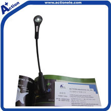 LED clip book light for promotional