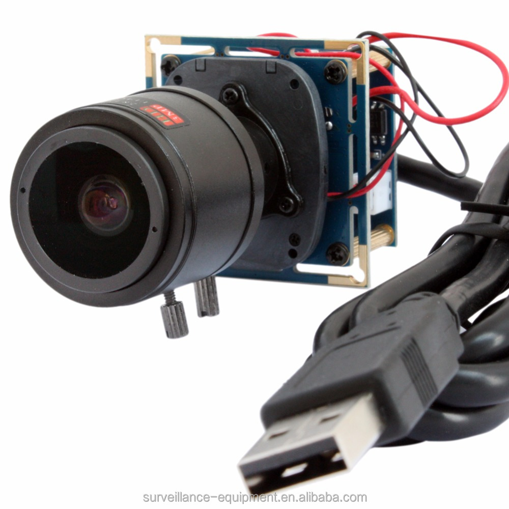 "OmniVision 1/3"" Color CMOS image sensor OV2710 2mp varifocal usb camera ELP-USBFHD01M"