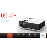 Customized 800 Lumens Home Theatre Portable Projector UC40