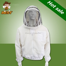 Underarm Zippered Veil Combo Air Through Bee Suit Beekeeping Protection Clothing Beekeeper Suit