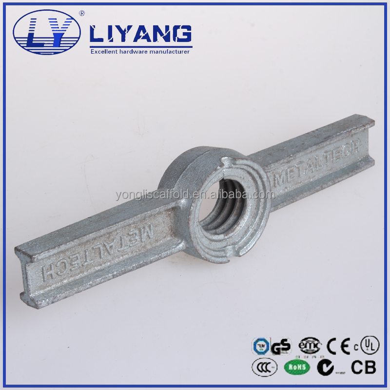 Ductile cast iron scaffold high load capacity screw jack nut