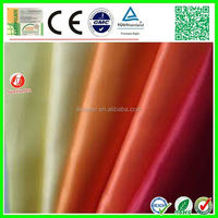kinds of foam backed polyester fabric for cloth t-shirt