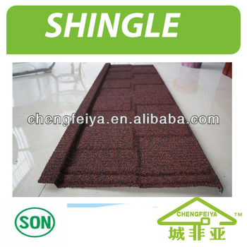 cheap Colorful stone coated metal roofing tile manufacturer