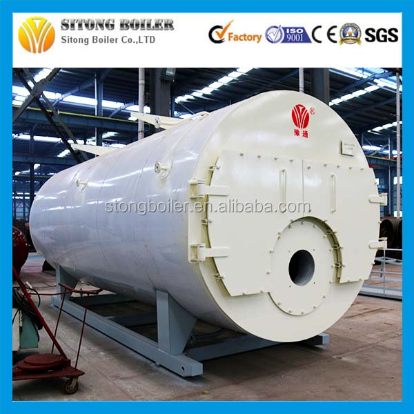 For Heating / Drying Material Fire Tube 16Bar 15000kg Oil Steam Boilers