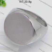 New Stainless Steel Jewel Unisex Fashion Powell Stainless Steel2014 finger ring clock