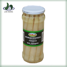 High quality A grade glass jar steamted salty natural sliced canned sea asparagus