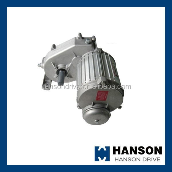 Gearbox speed reducer center drive for agricultural sprinkler machine parts