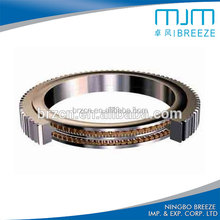 Four-Point Contact Ball Slewing Ring Bearing, single-row ball slewing bearing