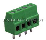 Free samples 3.81mm pitch MB332-3812/3/4/5/6/7/8/9/10-way deca pcb screw terminal block connector