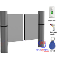 RFID card reader automatic swing gate barriers security counter turnstile