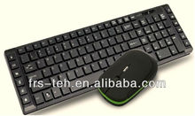 Combo mini wireless keyboard and mouse for ipad