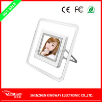 2.4 inch LCD mini digital photo frame USB 2.0 digital photo frame with 4GB memory SD card photo fame