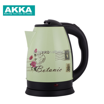 Unique stainless steel temperature hotel mini electric kettle with thermometer pour over automatic tea maker
