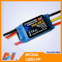 Maytech rc plane ESC 20A brushless speed controller for model airPlane