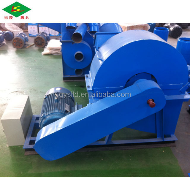 Great amount tractor wood crusher chipper