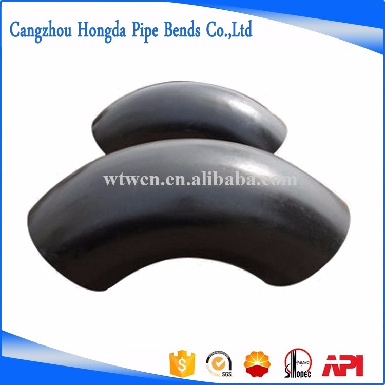 A234 WPB Butt Welding Long Radius Carbon Steel 90 degree Pipe Elbow