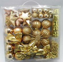 2016 Christmas Goden Ornaments Decorations Ball for Christmas Tree