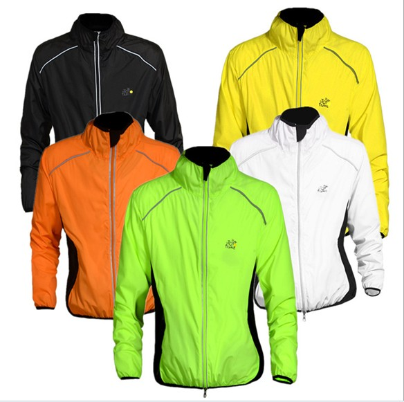 Lightweight Breathable Waterproof Cycling Jacket