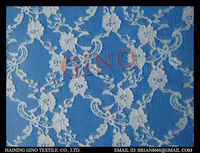 GL-910 Nylon/spandex floral lace fabric