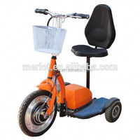 New Arrival three wheels stand up cool adult electric scooter with front brushless motor