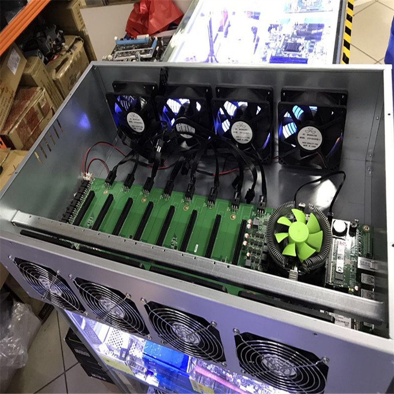 Building Miners with selected Graphic cards P106 GTX1070 1080 AMD RX470 580